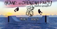 "Impact Beach ""Grand Re-Opening Party"" sulla spiaggia di Torre Quetta"