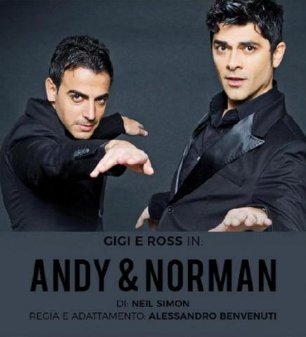 Gigi & Ross in Andy & Norman